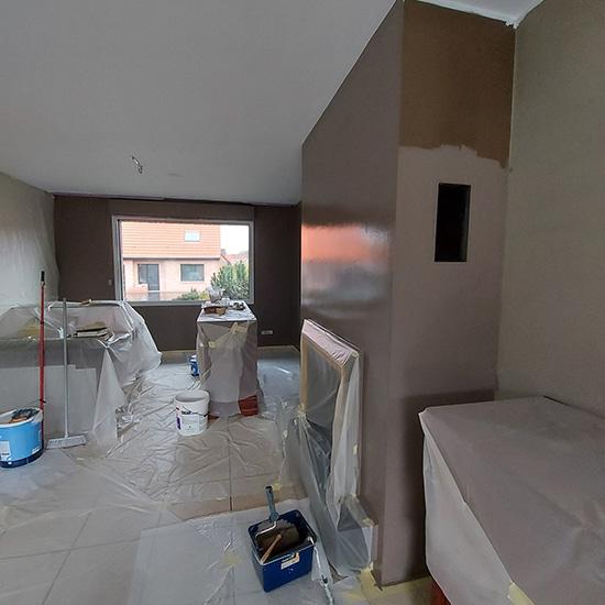 Rénovation intérieure avant vente immobilière à Wattrelos