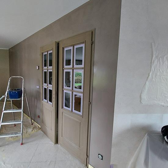 Travaux de rénovation pour vente immobilière à Wattrelos
